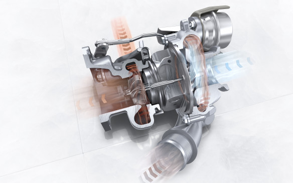 <p>Much of the extra power comes from the twin turbos that are now standard on the 3.0L six-cylinder engines.</p>
