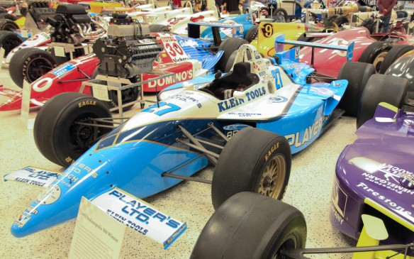 <p>Of particular interest to Canadians is this Reynard-Ford Cosworth which Jacques Villeneuve drove to victory in the 1995 Indy 500. Although others have come close several times, Villeneuve is the only Canadian driver ever to have won the big race.</p>
