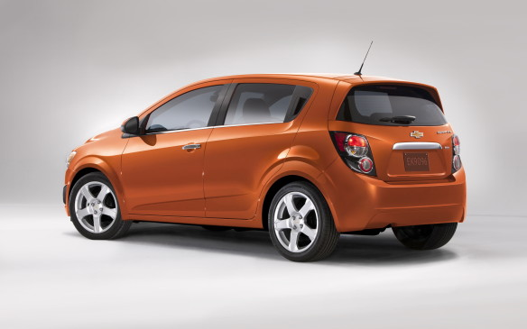 <p><strong>Highest-ranked Small Car: Chevrolet Sonic.</strong></p> <p>Runners up: Scion iA and Ford Fiesta</p>