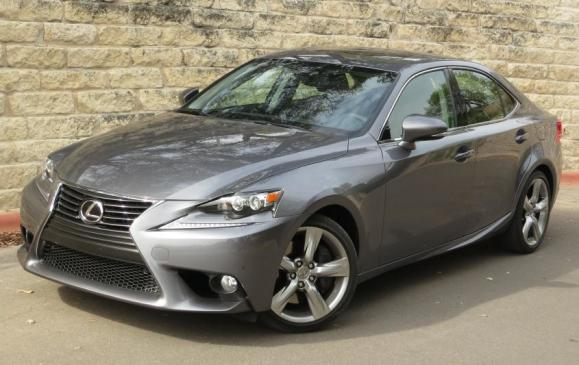 2014 Lexus IS350 - front 3/4 view high