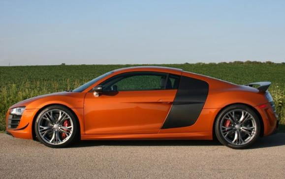 2012 Audi R8 GT - side view