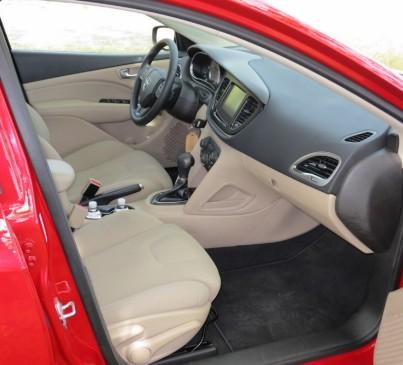2013 Dodge Dart - front seat