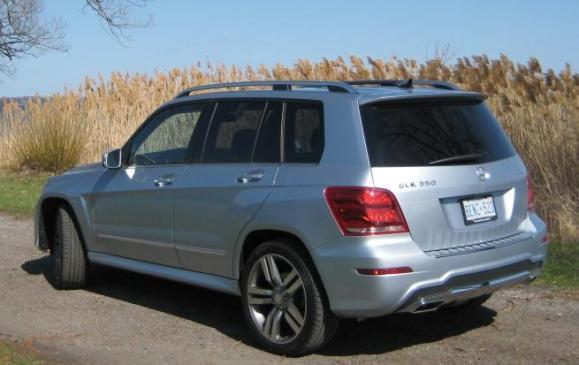 2013 Mercedes-Benz GLK 350 - rear 3/4 view
