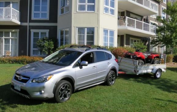 2013 Subaru Crosstrek - with trailer