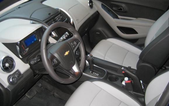 2013 Chevrolet Trax - front seats
