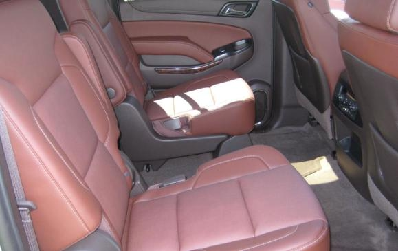 2015 Chevrolet Suburban - rear seats