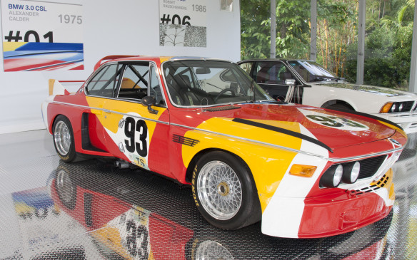 <p>Almost 40 years ago, a BMW 3.0 CSL, number 93, lined up for the start of the 1975 Le Mans 24-hour race. It was driven by Sam Posey, Hervé Poulain and Jean Guichet and it failed to finish the race. But it has become almost as famous as if it had won for it established a tradition that has continued for 40 years. It was the first BMW Art Car.<br /><br />The idea was the brainchild of the car's French driver and art enthusiast Hervé Poulain. With the support  of BMW Motorsport Director, Jochen Neerpasch, he asked his artist friend Alexander Calder to apply his creative talents to the paint scheme for the race car. <em>Voila</em>, the first BMW Art Car was born – and it became an instant crowd favourite.</p>