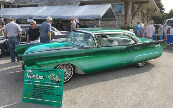 "<p>There are always celebrity guests – this year the guest list included American custom car legend Gene Winfield, a contemporary of George Barris, whose work dates back to the 1950s when he was dunned the ""King of the Kustoms."" This Jade Idol II is a tribute to the original jade Idol, one of Winfield's first big successes, which was based on a 1956 Mercury.</p>"