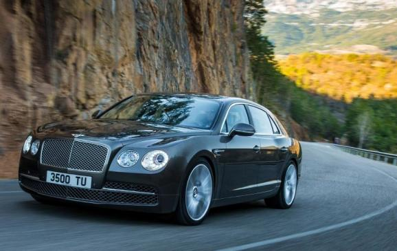 2014 Bentley Flying Spur - front 3/4 motion