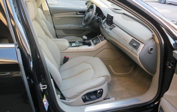 2015 Audi A8 - front seats