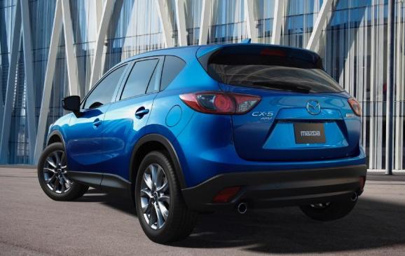 2013 Mazda CX-5 - rear 3/4 view
