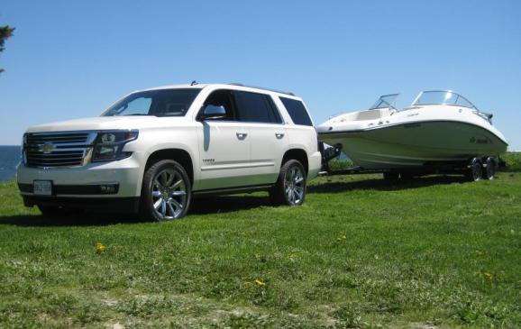 2015 Chevrolet Tahoe - towing