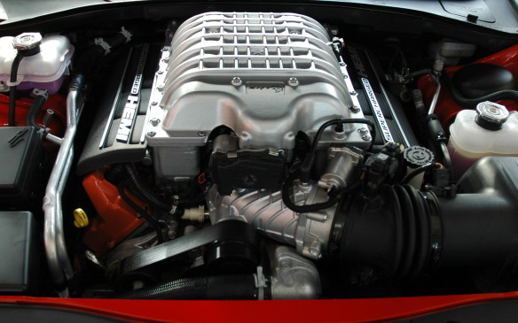 <p>2015 Dodge Charger Hellcat Engine</p>