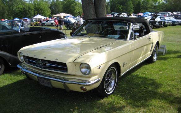 <p>First-year Mustang convertible is a certifiable modern classic.</p>
