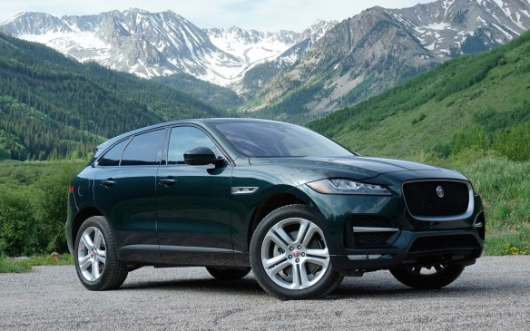 "<p>The F-Pace shares its mostly-aluminum underpinnings with the XE, though on a slightly longer wheelbase. Overall length at 4.7 metres actually positions it between the largest ""compact"" luxury CUVs (Acura RDX) and the smallest mid-size ones (Cadillac XT5) while pricing skews closer to the smaller category. Starting from $49,900, five trim grades provide various combos of equipment levels and three engines – 2.0 diesel, and supercharged 3.0 gasoline V-6 in 340- and 380-horsepower versions.</p>"
