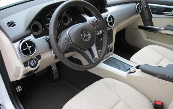 2013 Mercedes-Benz GLK - interior