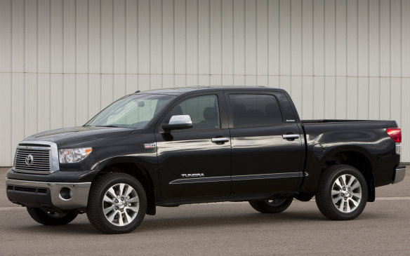 <p><strong>Full-size Pickup – Toyota Tundra:</strong> Although the Tundra ranks a distant fifth in terms of pickup sales, it does a great job of retaining its value better than the US-branded competition. With a pair of V-8s and overbuilt components, the big Toyota is a six-time CBB winner. The second-best Chevrolet Silverado HD gets the nod for huge hauling jobs while the third-placed Chevrolet Avalanche is more Swiss-army-knife than workhorse.</p>