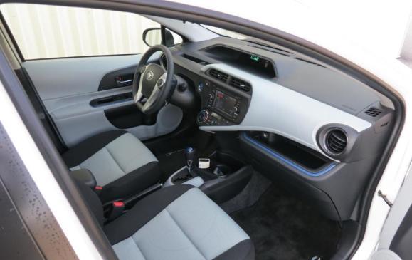 2012 Toyota Prius C - Front seat