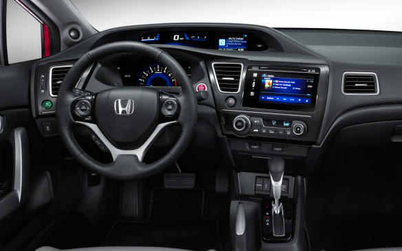 <p>The other problem is the second screen farther up on the instrument panel, which mostly duplicates the information presented on the main screen. It would serve well as the screen where the passenger-side-mirror-mounted camera – called Lanewatch –displays since it's closer to the driver's line of sight than the main screen.</p>