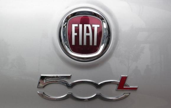 2014 Fiat 500L - badging detail