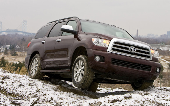 <p><strong>Full-size SUV – Toyota Sequoia:</strong> Just like in the full-size pickup class, when it comes to full-size seven-seat SUVs, the answer is Toyota. The Sequoia has been the CBB favourite for five years thanks to its durability and reasonable refinement, along with strong tow ratings. Dodge's latest Durango comes closest in retained value thanks to its Mercedes-Benz parentage, while the older, unchanged Nissan Armada is next.</p>