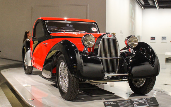 <p>The 'Art of Bugatti' exhibit will continue at the Petersen Automotive Museum in Los Angeles until October 2017.</p>