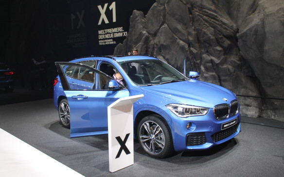 <p>There wasn't an official press introduction for BMW's X1 after the company's chairman fainted on stage, but the wraps were removed anyway.</p>