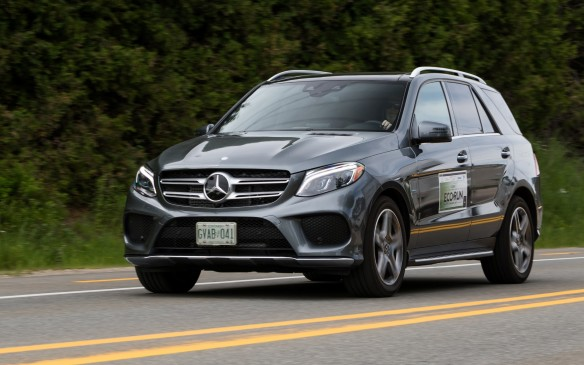 <p><strong>2017 Mercedes-Benz GLE 550e 4Matic</strong></p> <ul> <li>Price as tested: $98,240 (starting price: $83,000.)</li> <li>Biturbo V6 with 85 kW electric motor</li> <li>436 hp and 479 lb.-ft. of torque</li> <li>Permanent AWD transmission type; 7G-TRONIC PLUS Automatic</li> <li>Fuel economy: 11.1 L/100 km combined; AJAC fuel consumption: 9.1 L/100 km combined.</li> </ul>