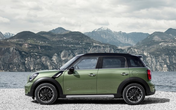 <p>Marketed as the brand's first crossover, some viewed the Countryman as Mini's first real car with four adult-sized doors, a taller stance and optional all-wheel drive. While it was 41 cm longer than a two-door Mini Cooper, it was barely bigger than Honda's diminutive Fit and it was still 9 cm shorter than a Volkswagen Golf. The base model used a direct-injected 1.6-L DOHC four cylinder that produced 121 hp dispatched to the front wheels. A six-speed manual transmission was standard, with a six-speed automatic optional. The Countryman S used a turbocharged version of the same 1.6-L, churning out 181 hp.</p>