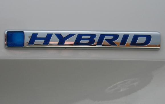 2014 Honda Accord Hybrid - hybrid badge detail