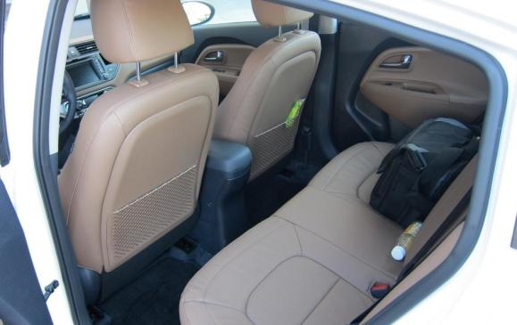 2012 Kia Rio Sedan - rear seat