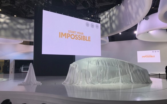 <p>We saw Toyota's Concept-i at the Consumer Electronics Show in Las Vegas, but in Tokyo, the futuristic four-seater was just one of three Concept-i versions.</p>
