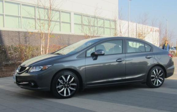 2013 Honda Civic sedan - side view