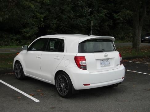 Scion Xd 2011 rear