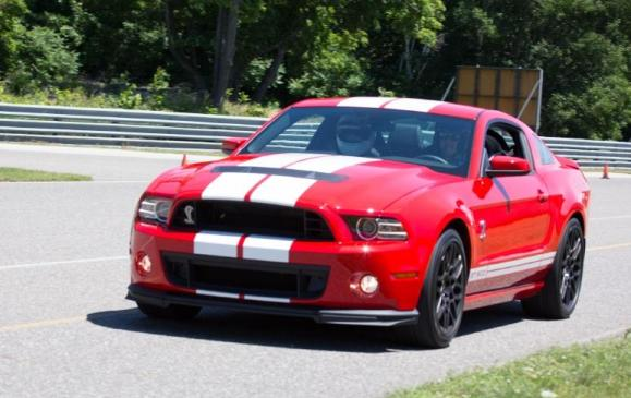 2013 Ford Shelby GT500 at Calabogie - Front