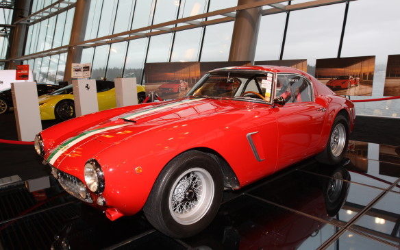 <p>This original, unrestored 1960 Ferrari 250 GT SWB Competition, with racing history including the Targa Florio and Mille Miglia, is said to be worth about $12-million USD. It belongs to a local collector whose identity was not divulged.</p>