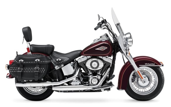 <p><strong>Close second: Harley-Davidson Heritage Softail Classic ($22,479)</strong> - If there's an American classic in Harley's vast selection of bikes, it's the Heritage Softail Classic. It's a tip of the helmet to the iconic bikes of the 1950s and '60s, but it is itself a classic, in production for more than a quarter-century. Nowadays, it comes with ABS brakes, fuel injection and a smooth Twin Cam 103 V-twin.</p>