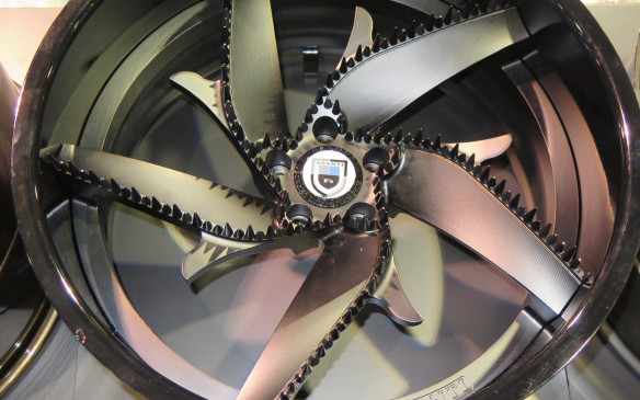 <p>Wheels are one of the easiest ways to personalize a vehicle. There are more choices than you could possibly imagine with every size, shape and colour under the sun including these furry 30-inchers. </p>