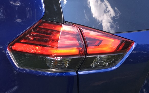 <p>The redesigned taillights now share the boomerang design, a look that's also becoming a signature styling cue on Nissan products.</p>