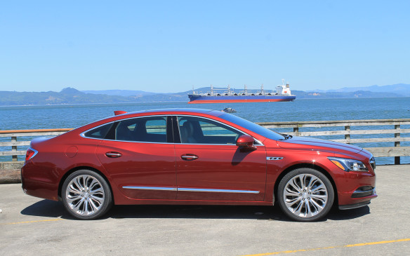 <p>The 2017 Buick LaCrosse is the first major redesign of General Motors' mid-luxe sedan since it was introduced in 2009.</p>