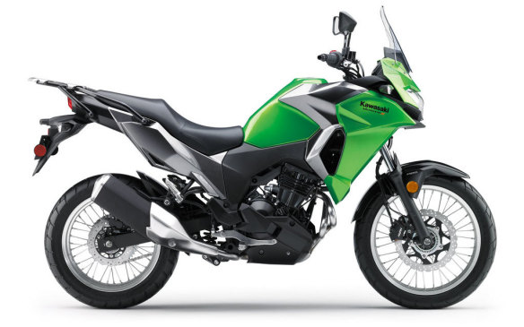 "<p>Also a forgiving ride, Kawasaki's all-new small dual-purpose bike should appeal to riders of all abilities. It's officially an ""adventure"" motorcycle that can ride on rough roads as easily as pavement, but bikes like this are also very popular as city commuters.</p>"