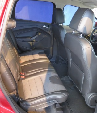 2013 Ford Escape - interior - rear