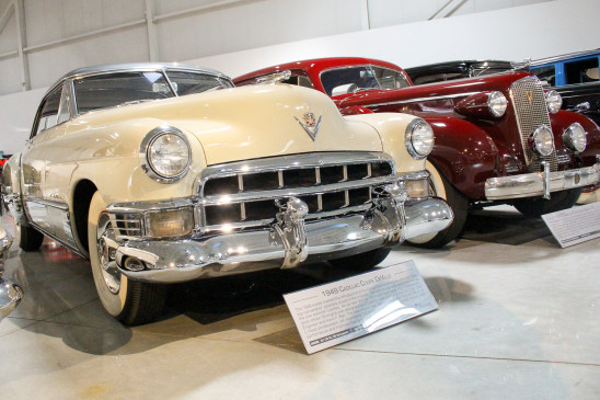 "<p>In the post-WWII era, this 1949 Cadillac Coupe De Ville became the first production car to offer a pillarless ""hardtop-convertible"" body style, which became the premium style of choice for more than two decades.</p>"