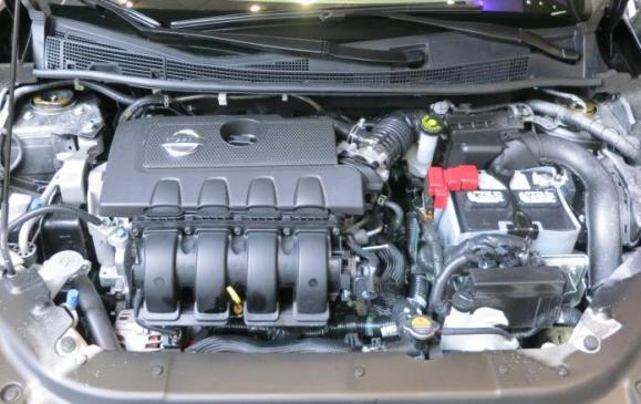 2013 Nissan Sentra - engine bay