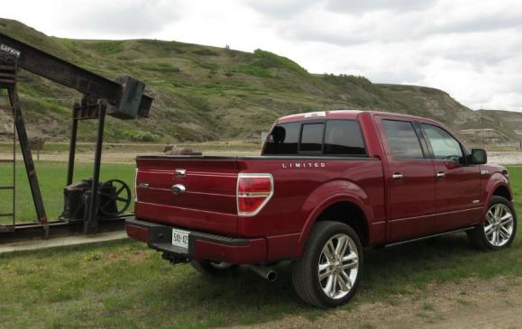 2013 Ford F-150 Limited - rear 3/4 beauty shot