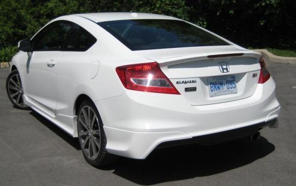 2012 Honda Civic Si HFP - left rear view