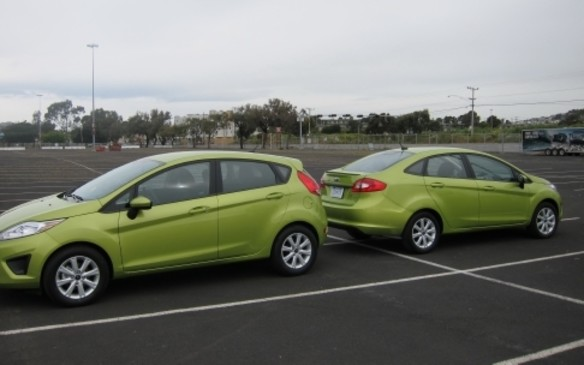 2011 Ford Fiesta hatch and sedan