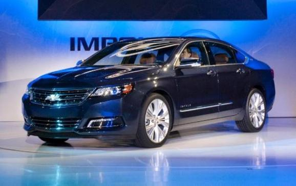 2014 Chevrolet Impala Reveal at NYIAS