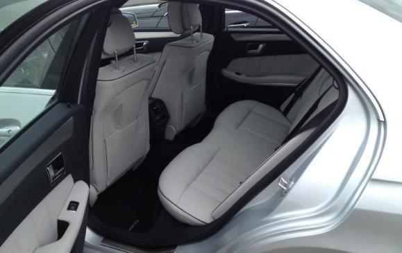 2014 Mercedes-Benz E-Class - rear seat