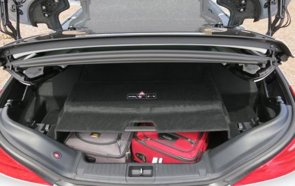 2013 Mercedes-Benz SL 550 - trunk